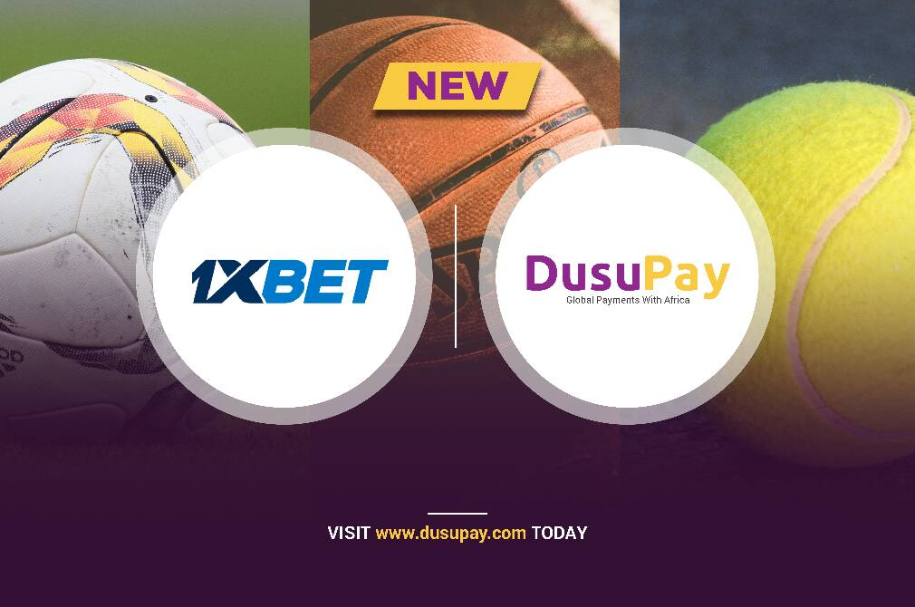 1xBet, The Betting Giant Now using DusuPay to accept payments all across Africa