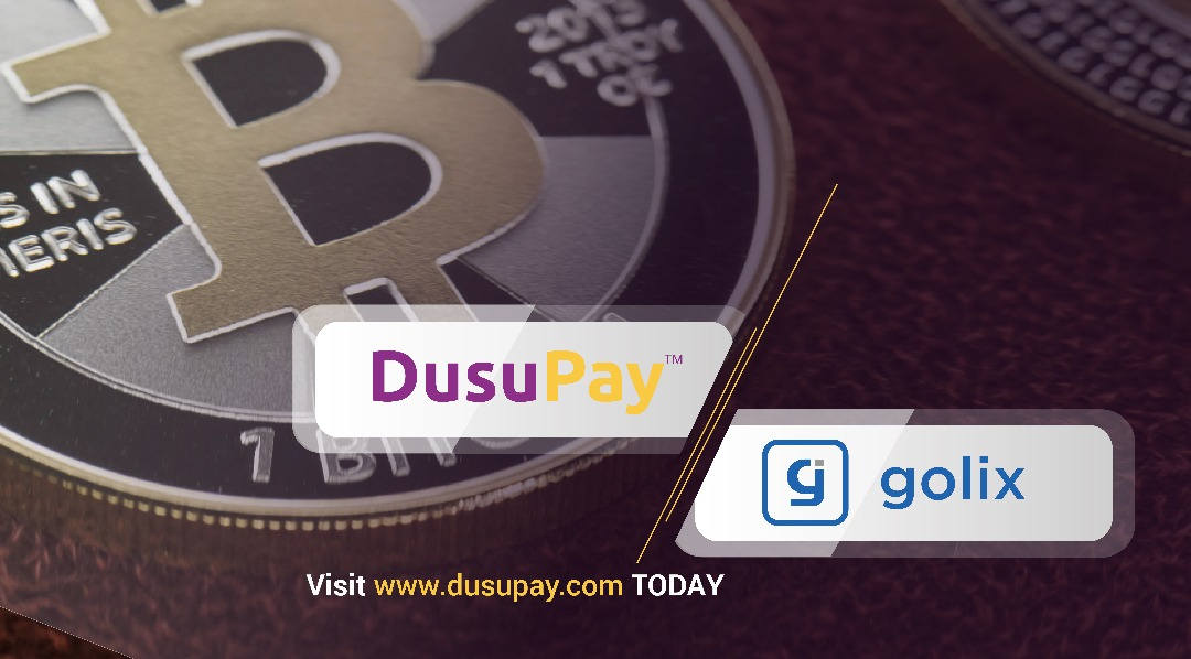 Golix.com, The Zimbabwe based crypto currency Giant now using DusuPay for intra-Africa payments