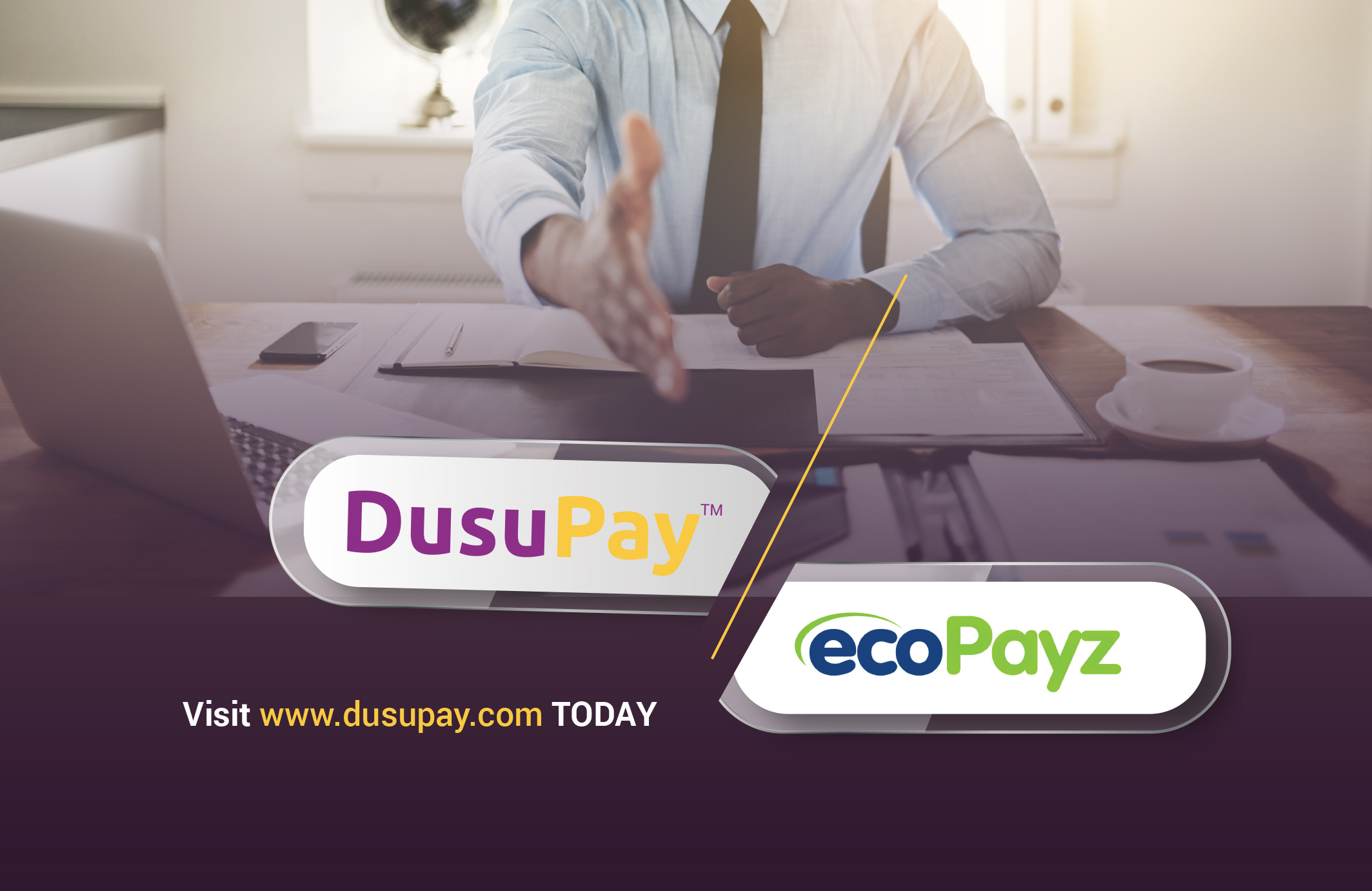 EcoPayz partners with DusuPay to expand its footprint to Africa