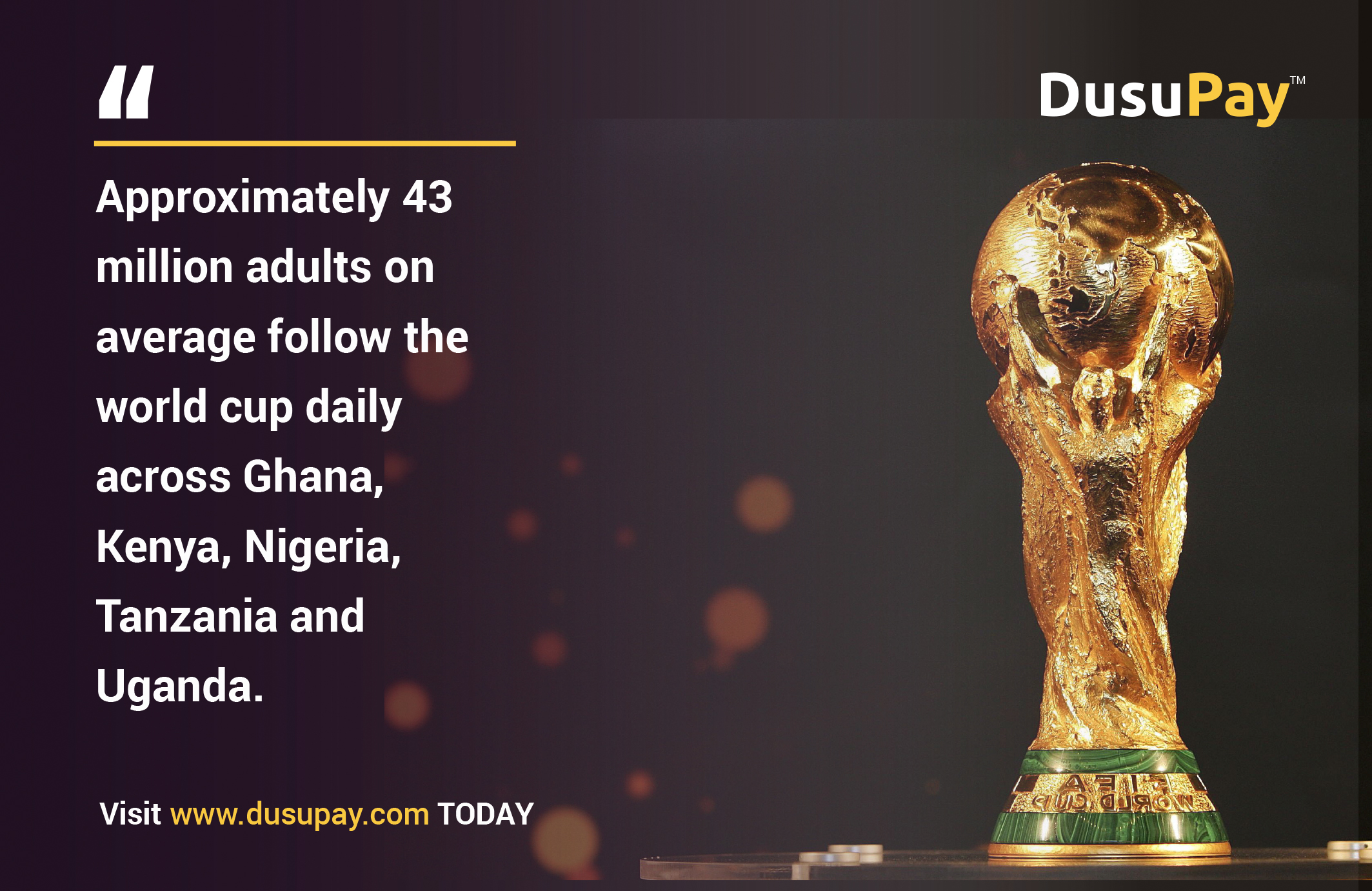 How top betting companies have reaped big from Africa's love for the world cup
